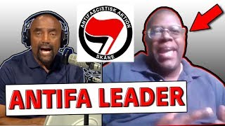 ANTIFA interview!! Daryle Lamont Jenkins vs. Jesse Lee Peterson!!!