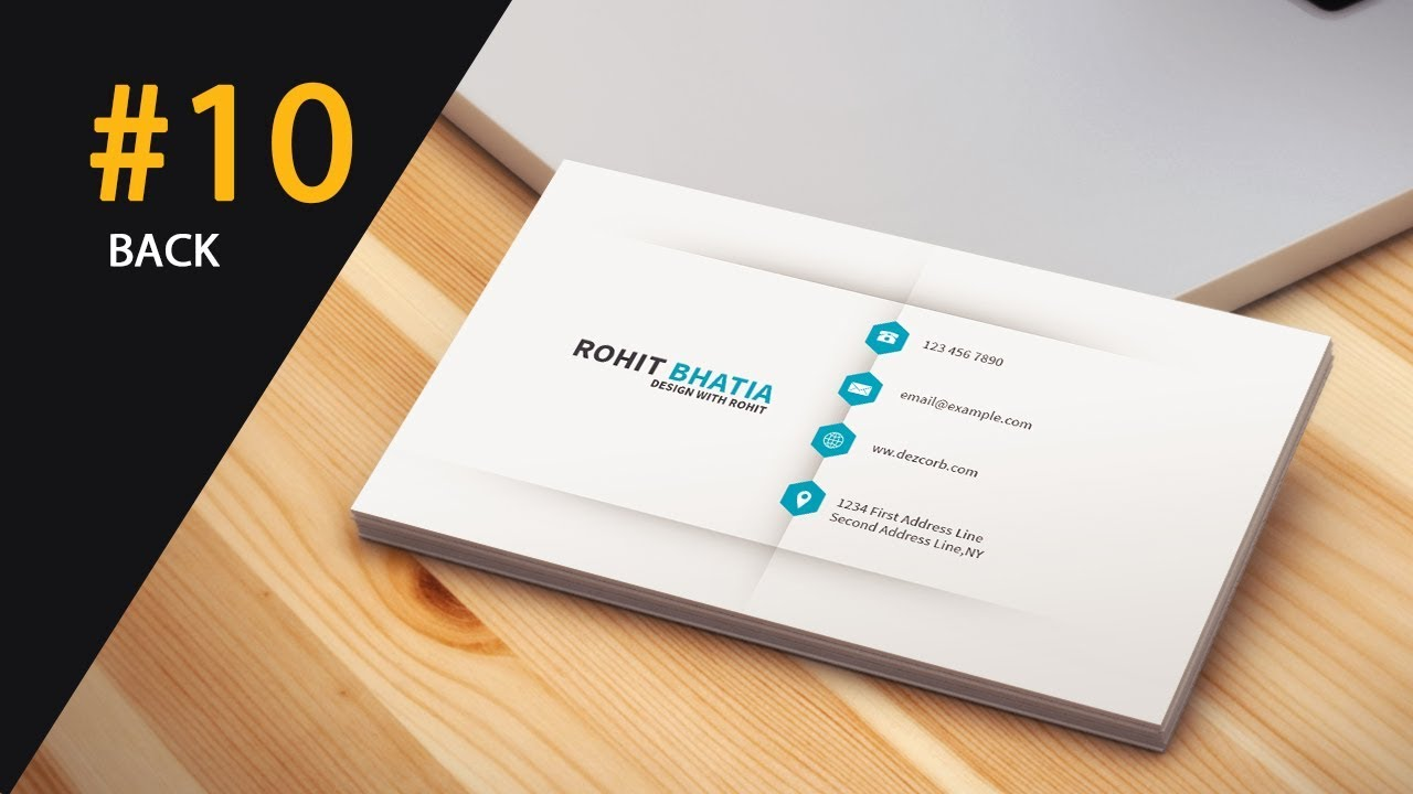 10 how to design business cards in photoshop cs6 Back | Gray ...