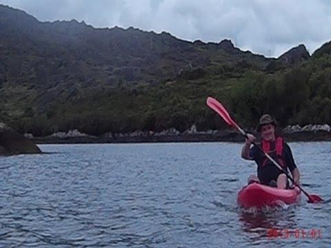 Kayaking in Bantry Bay
