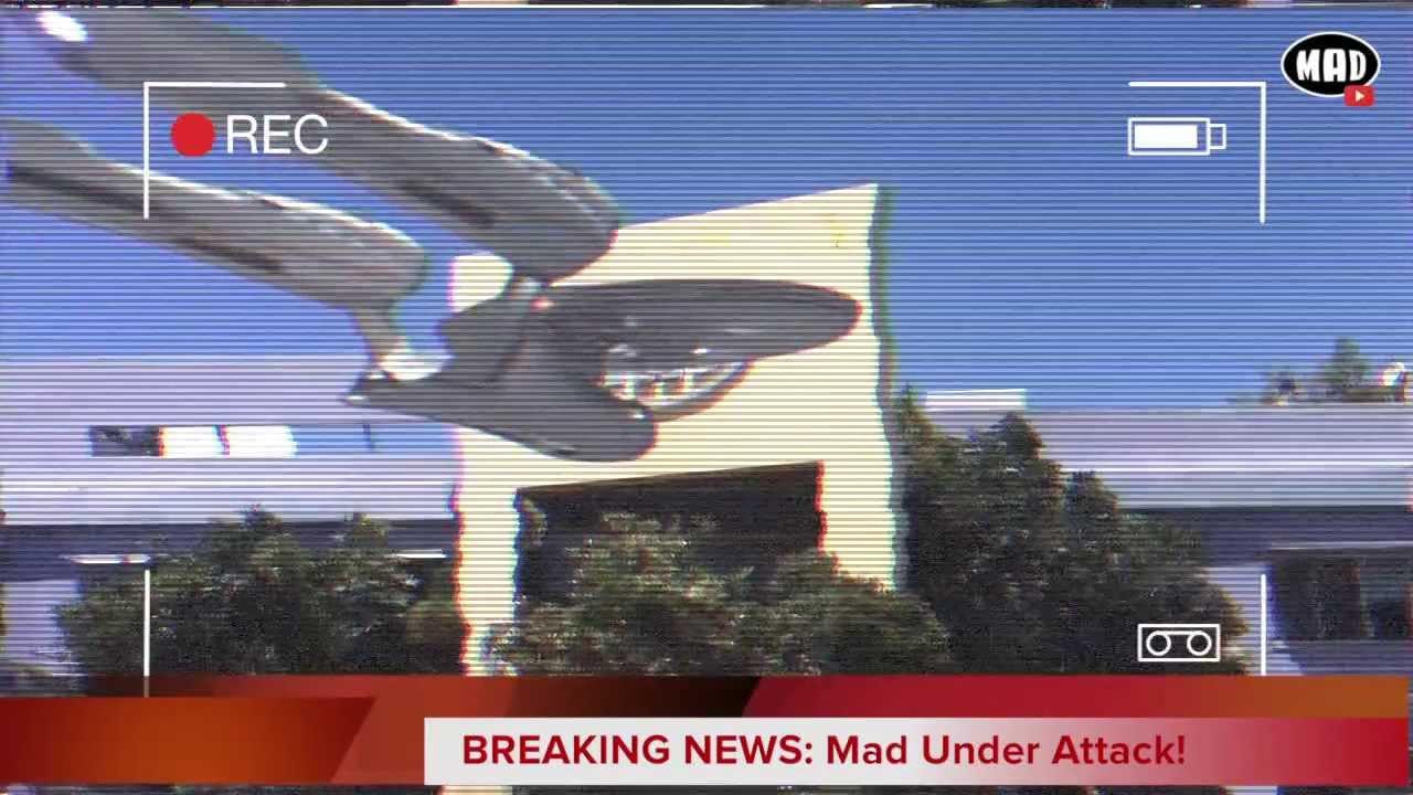 Mad TV Under Attack! (BREAKING NEWS)