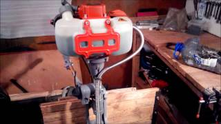 лодочный мотор карвер Carver 3.8