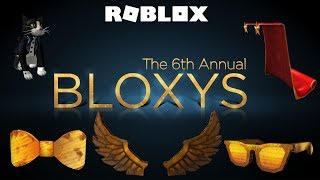 Roblox- The 6th Annual Bloxys (Prizes)