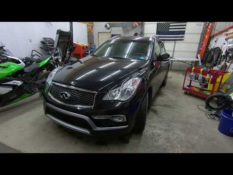 How To Door Panel Removal 2016 Infiniti QX50 Driver Front