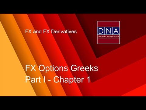 FX Options Greeks - Chapter 1