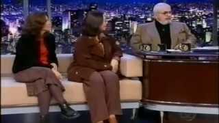 Diana Goulart e Malu Cooper no Jô Soares