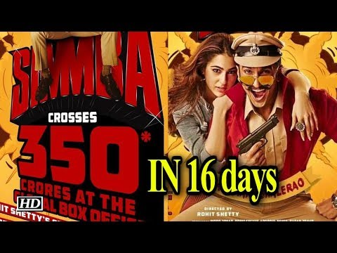 Ranveer's 'Simmba' collects Rs 350 crore globally in 16 days Mp3