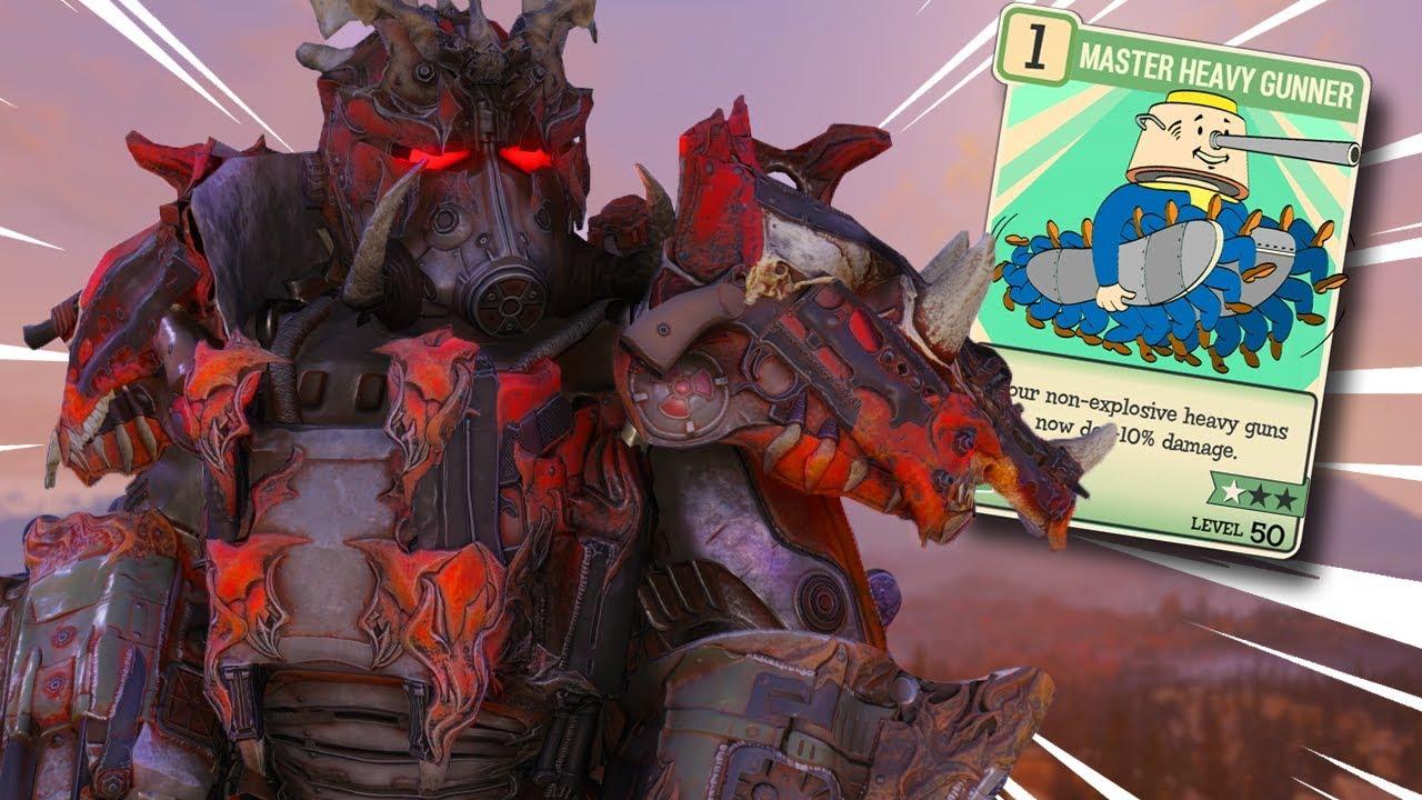 Heavy Gunners Build   Fallout 76   Kevduit