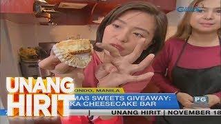 Unang Hirit: Christmas Sweets Giveaway!