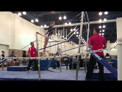 Amanda Casey on bars