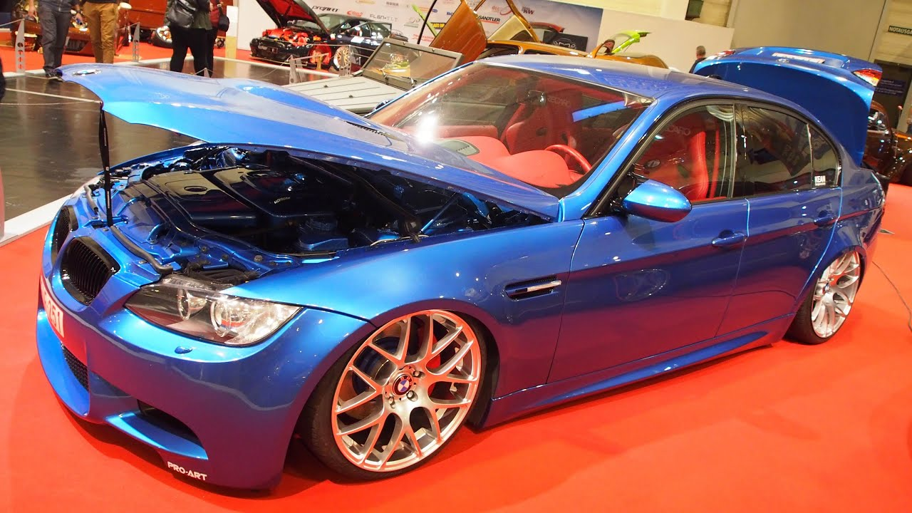 bmw 320d e90 tuning at essen motorshow exterior walkaround youtube. Black Bedroom Furniture Sets. Home Design Ideas