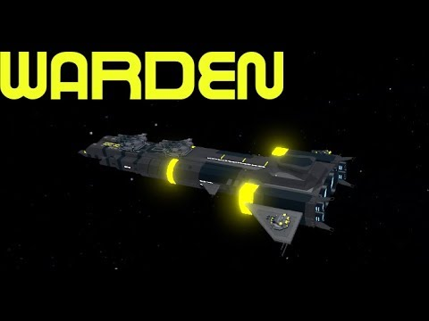 Robloxgalaxy New Warden Ship Review - best battleship in roblox galaxy