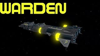 Roblox:Galaxy-NEW WARDEN ship review