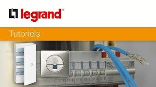 Réseau multimédia Legrand : comment installer votre coffret de communication avec des prises RJ45 ?