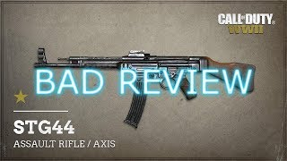 Bad Review: STG44  - Call of Duty WW2 Bad Review on the STG44   It