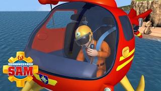 Brandweerman Sam | Helikopter Reddingen | Brandweerman Sam Nederlands