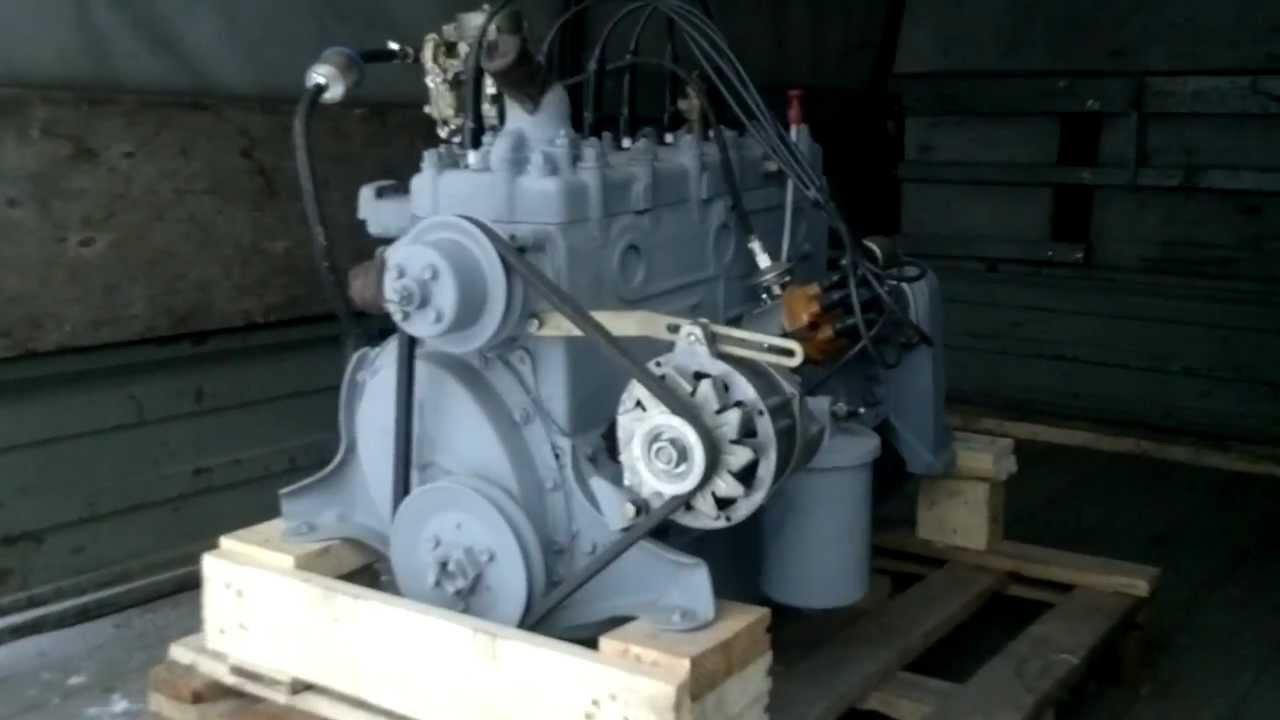 Двигатель ГАЗ 53 - YouTube