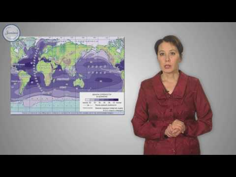 География 7 класс. Воды Мирового океана и его свойства