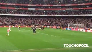 Download Video Danny Welbeck Goal Arsenal vs Leicester 2-1  - Great Fan View MP3 3GP MP4