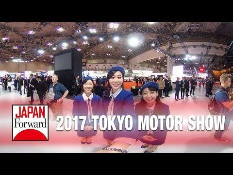 [360º VR] 2017 Tokyo Motor Show at Tokyo Big Site | JAPAN Forward