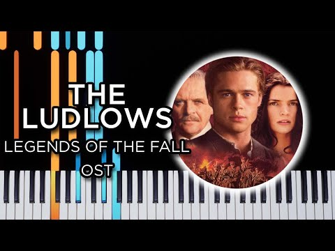 The Ludlows (Legends Of The Fall OST) – Piano Tutorial