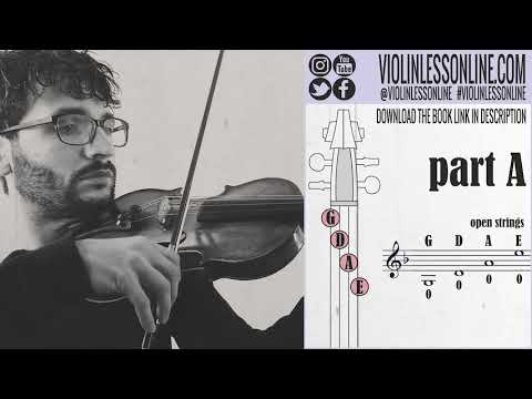 #01 My Heart Will Go On - Titanic - (Part A) Violin Song Tutorial thumbnail