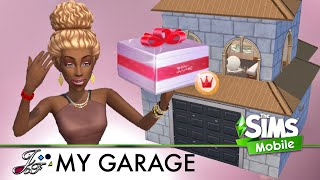 The Sims Mobile 🔲 🚘 | My Dream Garage | STS \u0026 NEW Packs review.