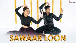 Sawaar Loon - Lootera   Sitting Choreography   Dance Video   Natya Social