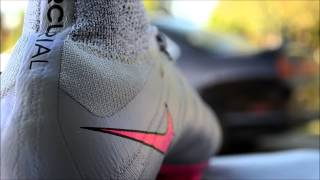 Nike Mercurial Superfly FG 4 Grey/Hyper/Pink/Black/Black unboxing