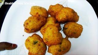 Chettinad Thavala Vadai Recipe - Vada Recipe - தவல வடை - Paruppu Vadai Recipe
