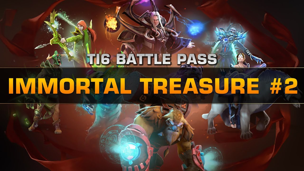 Dota 2 S Immortal Treasure 3 Launches: Immortal Treasure 2 (Item Spotlight)
