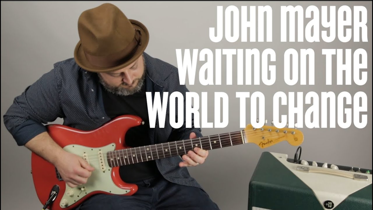 John Mayer Guitar Solo Lesson   Waiting On The World To Change   Major  Pentatonic Techniques