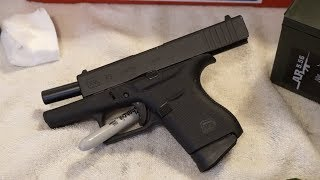Glock 43 G43 how to clean.