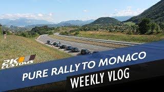 Pure Rally 2018 - London - Paris - Lyon - Monaco - Trip of a lifetime 🚗🚗💪