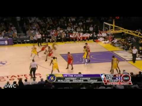Shane Battier Defense On Kobe Bryant October 30, 2007