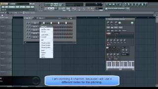Hardstyle kick pitching tutorial by Da Daze (Method 1 - in FL Studio)