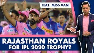 RR for IPL 2020 Trophy? Feat. Miss Vani   #AakashVani   Cricket Analysis