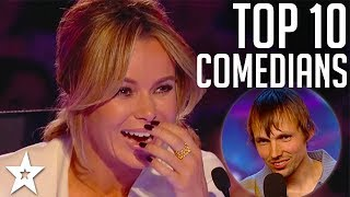 Download TOP 10 Funniest Comedians EVER on Britain's Got Talent | Got Talent Mp3 and Videos