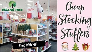 ☆ CHRISTMAS GIFTS | Cheap Stocking Stuffers - TARGET + DOLLAR TREE ☆