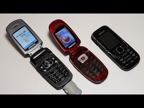 Посылка от подписчика Максима Вуаля Три ретро телефона даром Nokia 2323c, Samsung E770, Samsung X481