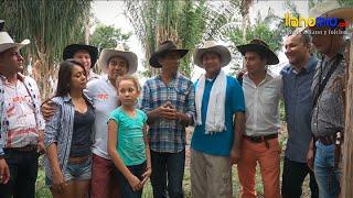 Dulber Hernández, invitación a folcloristas y locutores de la radio.