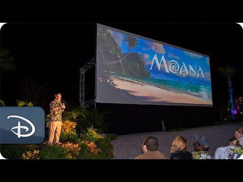 'Moana' Screenwriter Jared Bush Talks With Disney Parks Blog  Walt Disney World