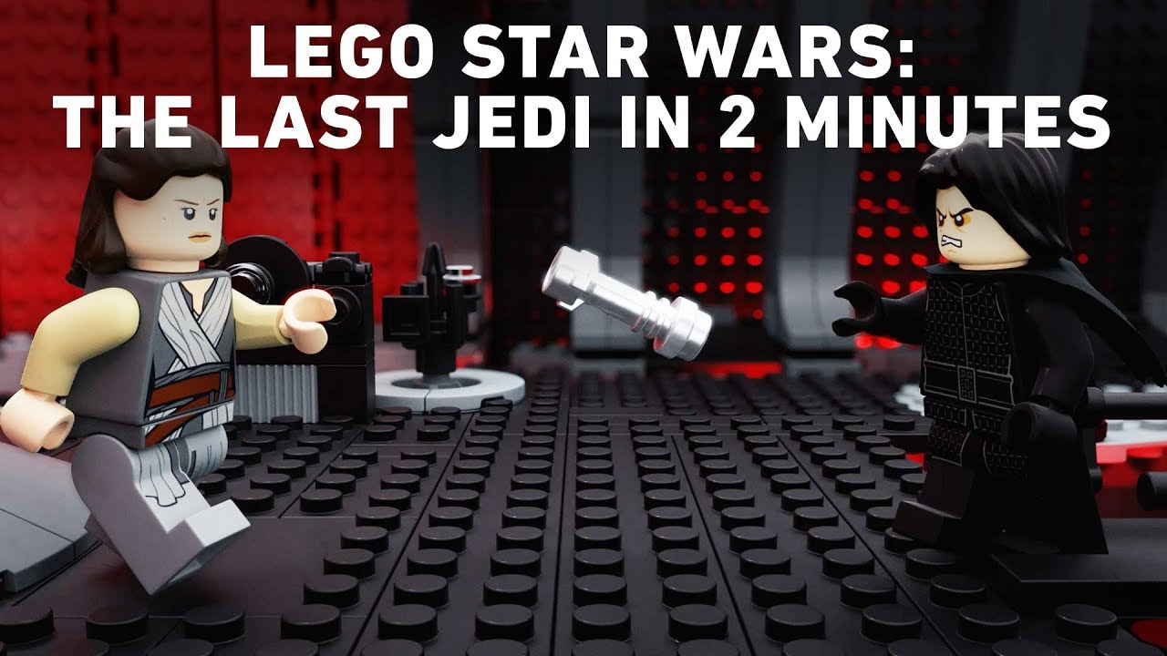 Lego Star Wars The Last Jedi In 2 Minutes Youtube