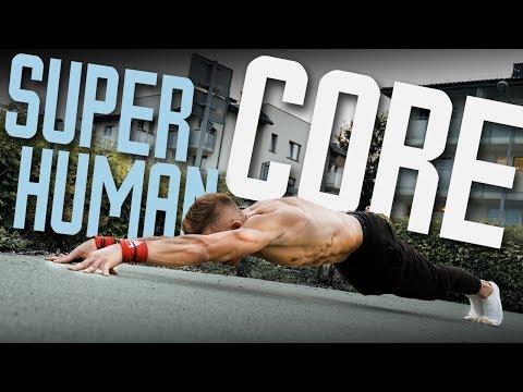 Build SUPERHUMAN CORE strength Beginner to advanced
