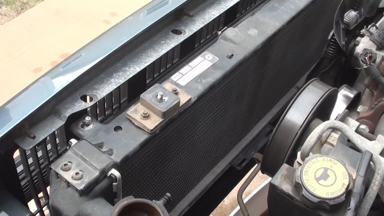 small resolution of jeep cherokee radiator replacement