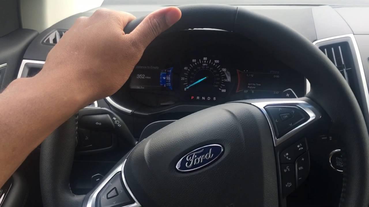 Interior Lights Operation Ford Edge 2017