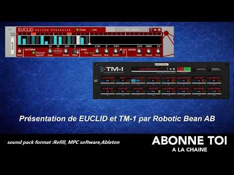 """abc du beatmaking """"propellerheads Présentation de EUCLID et TM-1 par Robotic Bean AB"""""""
