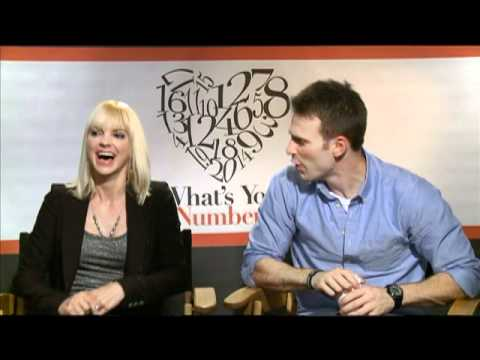 Anna Faris and Chris Evans Interview for WHAT'S YOUR NUMBER