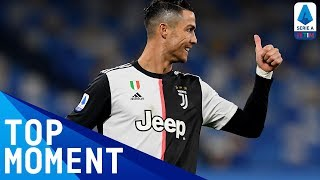 Ronaldo Scores Late Goal For Juve | Napoli 2-1 Juventus | Top Moment | Serie A TIM