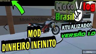 Mod dinheiro infinito Moto vlog Brasil  atualizado versão 1.0