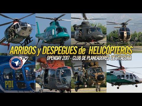 Vuelo rasante Helicópteros Militares, Policiales y médico en OpenDay Vitacura 2017